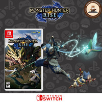 Paling Murah !! Switch Monster Hunter Rise Deluxe Edt English Language