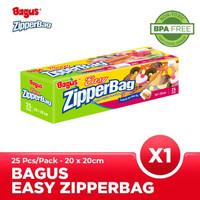 Bagus Eazy Zipperbag 25 s 20 cm x 20 cm W-21456