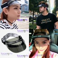 Topi Fashion Gowes Sepeda Visor Pria Wanita Premium