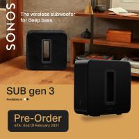 Sonos SUB (Gen 3) Wireless Subwoofer
