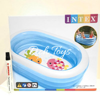INTEX MY SEA FRIENDS POOL 163X107X46 CM KOLAM RENANG ANAK