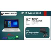 LAPTOP HP 14 AMD Ryzen 3 3250 AMD RADEON Vega3 RAM4GB 256GB SSD WIN10