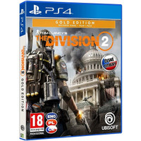 PROMO!! PS4 TOM CLANCY'S THE DIVISION 2 GOLD EDT CD BD PS 4 R3 ASIA