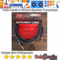 Kabel Jack Gitar Daddario PW-G-20 PWG20 Instrument Cable 6.10M
