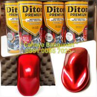 Paket Diton Premium Candy Tone Red Merah 9311 Cat Semprot Pilox Pylox