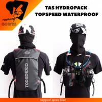 Tas Ransel Hydropack sepeda running - Tas Hitam