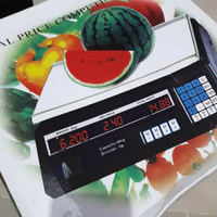 Timbangan Buah Digital 30Kg Dengan Harga Sayur Digital Computing Scale