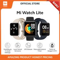Xiaomi Official Mi Watch Lite Fitness Smartwatch 11 Mode Olahraga - Hitam