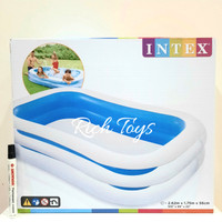 INTEX SWIM CENTER FAMILY POOL 262X175X56CM KOLAM RENANG ANAK
