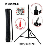 EXCELL POWER AIR Light Stand Besar Air Cushion Lighting Big Spirit Tri