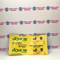 Vicee 500 Lemon 2tab - Vitamin