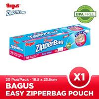 Bagus Eazy Zipperbag With Pouch 20 s 18.5 cm x 23.5 cm W-21459