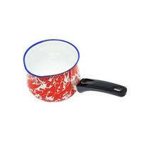 Kedaung Panci Susu / Milk Pan 12 Cm Doreng - Merah