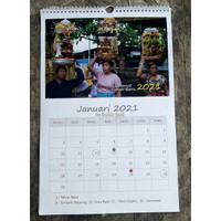 Kalender Bali 2021 Dinding Foto Bali Bisa tulis agenda