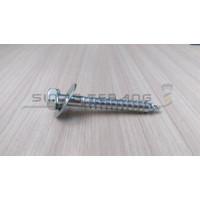 Deskrup 1/4x2 - lag Screw 5cm - Skrup ficher S10 + ring