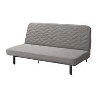 Sofa Bed ikea 3 seat 3 dudukan Kasur Busa - NYHMN - Abu-abu