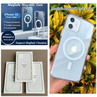 iphone 12 Pro Max | Clear Case With Magsafe Magnetic Charger