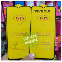 TEMPER GLASS VIVO Y1S FULL COVER 9D -SAO