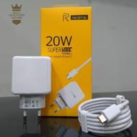 Travel Charger Realme 20W Super VOOC MICRO USB Fast Charging Original