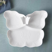Piring Keramik Dutches Plate Model Kupu-Kupu / butterfly -101