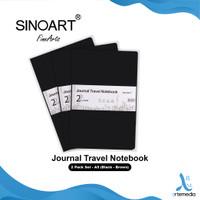 Buku Sketsa Sinoart 14x21cm Set 2 Journal Travel Notebook