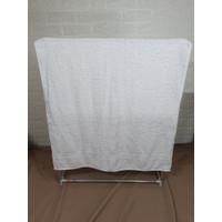 Chalmer Handuk Mandi Polos Uk. 50x100 Cm - Putih