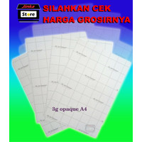 Transfer Paper 3G A4 Opaque Dark Made in USA