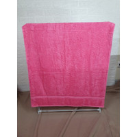 Chalmer Handuk Mandi Polos Uk. 50x100 Cm - Pink