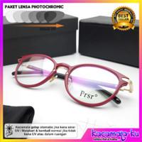 Kacamata Wanita Minus Modern Lensa Photocromic