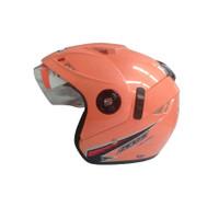 Helm Half Face / Helm GP Zeus solid Peach