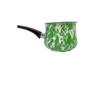 Kedaung Panci Susu / Milk Pan 12 Cm Doreng - Hijau