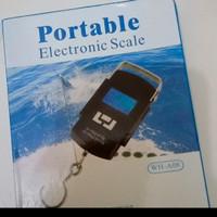 Timbangan Koper Digital 50kg Timbangan Gantung Digital Portable Scale