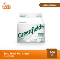 Susu Fresh Full Cream Greenfields 200 ml