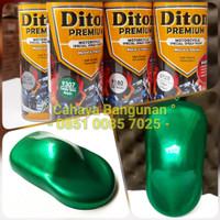 Paket Diton Premium Candy Tone Green Hijau Cat CandyTone Pilox Pylox
