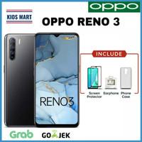 Oppo Reno 3 Ram 8GB/128GB Garansi Resmi - Black No Free