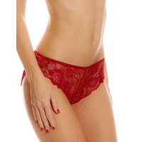 Brief Valege Lenais Flower Lace Red