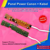 Panel Power Canon E460 MG2470 MG2570 E400 MG2570s + Kabel Flexible