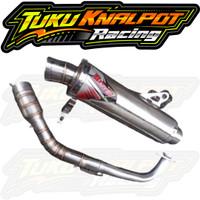 KNALPOT RACING BEST3 NMAX AEROX VARIO BEAT MIO PCX DLL
