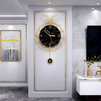 Jam Dinding desain kepala Rusa Gaya Nordic untuk Dekorasi ruang Tamu