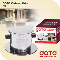 Goto 7Q Vietnam Drip Saringan Longcam Filter Pot Dripper Kopi
