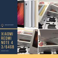 Xiaomi redmi note 4 3/64 ram 3gb rom 64gb new garansi distributor - Gold