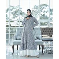 rasty maxi gamis cotton kotak premium dress original busui jumbo XL