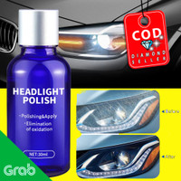 Cairan Pemutih Lampu Mobil Headlight Polish Repair Coat 30ml - LE01646