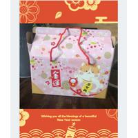 Box Kotak Cat Imlek Vintage Packing Spesial Chinese New Year