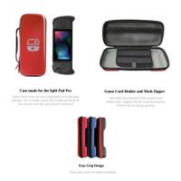 Nintendo Switch Lucky Fox Carrying Case / Tas Pouch Bag Split Pad Pro - Merah