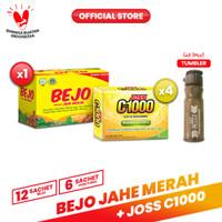 Paket Bejo Jahe Merah + Joss C1000