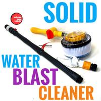SOLID Alat Cuci Mobil Motor Tongkat Putar Selang Air Spinning Brush