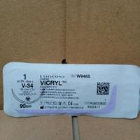 VICRYL 1 W9465 TAPERCUT