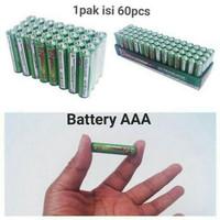 baterai 3A AAA batre 1pasang 2pcs
