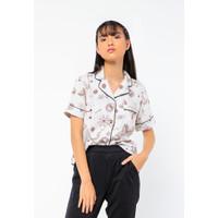 Colorbox Pajama Shirt I:BSWFCR221A010 Off White